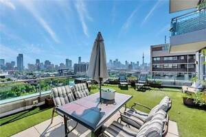 Massive Private Terrace In Heart of TO! 2 Bed + 3 Bath