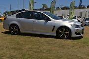 2016 Holden Commodore VF II MY16 SV6 Black Silver 6 Speed Sports Automatic Sedan Southport Gold Coast City Preview