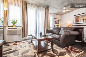 Luxury new furnished condo 2 ½ near metro Atwater for sale