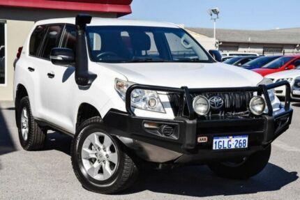 2012 Toyota Landcruiser Prado KDJ150R GX White 5 Speed Sports Automatic Wagon Bayswater Bayswater Area Preview