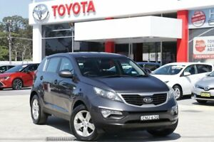 2013 Kia Sportage SL MY13 SI (FWD) Grey 6 Speed Automatic Wagon Wyoming Gosford Area Preview