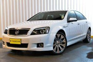 2013 Holden Caprice WM II MY12.5 V White 6 Speed Sports Automatic Sedan Hendra Brisbane North East Preview