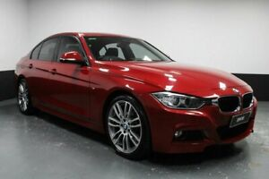 2013 BMW 3 Series F30 MY1112 328i Melbourne Red 8 Speed Sports Automatic Sedan Glendale Lake Macquarie Area Preview