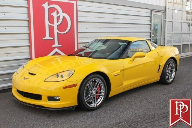 2006 Yellow Chevrolet Corvette Z06  | C6 Corvette Photo 5
