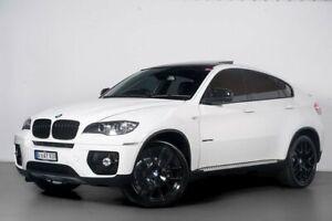 2011 BMW X6 E71 MY11 xDrive40d Coupe Steptronic White 8 Speed Sports Automatic Wagon