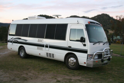 Toyota Coaster Motorhome  Yarra Junction Yarra Ranges Preview