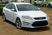 2014 Ford Mondeo MC Zetec PwrShift EcoBoost White 6 Speed Sports Automatic Dual Clutch Hatchback Southport Gold Coast City Preview