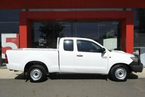 2013 Toyota Hilux KUN16R MY12 SR Glacier White 5 Speed Manual X Cab Pickup Swan Hill Swan Hill Area Preview
