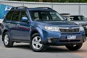 2009 Subaru Forester S3 MY09 XS AWD Blue 5 Speed Manual Wagon Ferntree Gully Knox Area Preview
