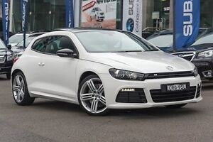 2013 Volkswagen Scirocco 1S MY13.5 R Coupe DSG White 6 Speed Sports Automatic Dual Clutch Hatchback Brookvale Manly Area Preview