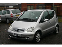 Mercedes A140 1.4 (Cheap car with loe mileage for everyday use)