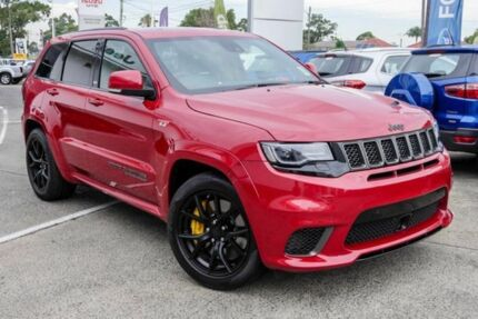 2017 Jeep Grand Cherokee WK MY18 Trackhawk Redline 8 Speed Sports Automatic Wagon Greenacre Bankstown Area Preview