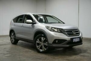 2014 Honda CR-V RM MY14 DTi-L 4WD Silver 5 Speed Sports Automatic Wagon Welshpool Canning Area Preview