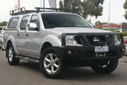 2010 Nissan Navara D40 ST-X Silver 5 Speed Automatic Utility Mill Park Whittlesea Area Preview