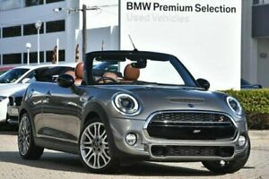 2016 Mini Convertible F57 Cooper S Melting Silver 6 Speed Sports Automatic Convertible