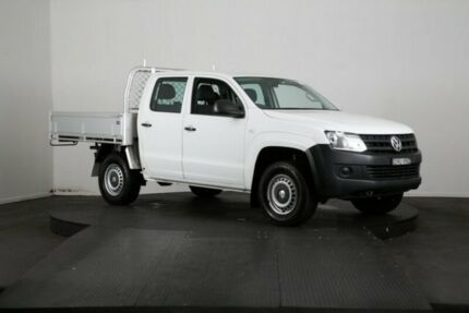 2012 Volkswagen Amarok 2H MY12 TDI340 (4x2) Silver 6 Speed Manual Dual Cab Chassis McGraths Hill Hawkesbury Area Preview