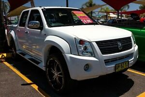 2006 Holden Rodeo RA MY06 LX Crew Cab White 4 Speed Automatic Utility Colyton Penrith Area Preview