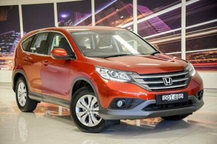 2014 Honda CR-V RM MY14 DTi-S 4WD Red 5 Speed Automatic Wagon Blacktown Blacktown Area Preview