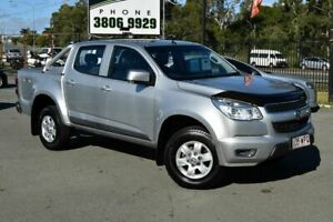 2016 Holden Colorado RG MY16 LS-X (4x4) Silver 6 Speed Automatic Crew Cab Pickup Underwood Logan Area Preview