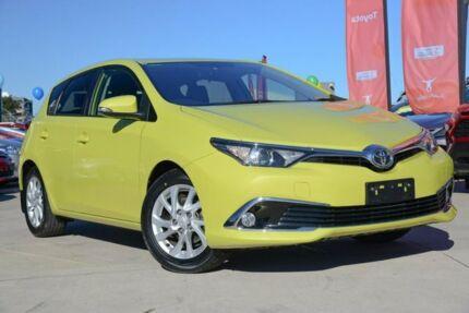 2017 Toyota Corolla ZRE182R Ascent Sport S-CVT Citrus 7 Speed Constant Variable Hatchback Blacktown Blacktown Area Preview
