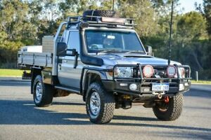2015 Toyota Landcruiser VDJ79R GXL Silver 5 Speed Manual Cab Chassis Cannington Canning Area Preview