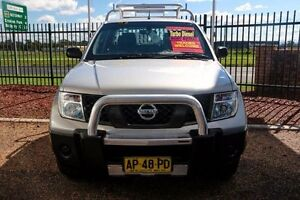 2007 Nissan Navara D40 RX Silver 5 Speed Automatic Utility Minchinbury Blacktown Area Preview