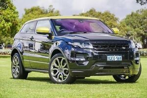 2013 Land Rover Range Rover Evoque L538 MY13.5 SD4 CommandShift Special Edition Black 6 Speed Victoria Park Victoria Park Area Preview