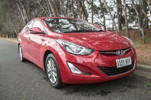 2014 Hyundai Elantra MD3 SE Red 6 Speed Sports Automatic Sedan Morphett Vale Morphett Vale Area Preview