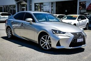 2017 Lexus IS ASE30R IS200t Luxury Silver 8 Speed Sports Automatic Sedan Myaree Melville Area Preview