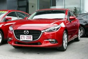 2016 Mazda 3 BM Series SP25 GT Red Manual Capalaba Brisbane South East Preview
