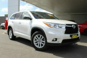 2015 Toyota Kluger GSU50R GX (4x2) Crystal Pearl 6 Speed Automatic Wagon Belmore Canterbury Area Preview