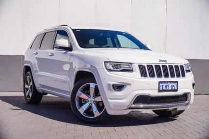2014 Jeep Grand Cherokee WK MY2014 Limited White 8 Speed Sports Automatic Wagon Maddington Gosnells Area Preview