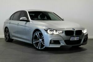 2017 BMW 3 Series F30 LCI 330i Sport Line Silver 8 Speed Sports Automatic Sedan Bayswater Bayswater Area Preview