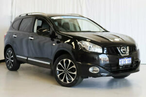 2013 Nissan Dualis J107 Series 4 MY13 +2 Hatch X-tronic 2WD Ti-L Black 6 Speed Constant Variable Wangara Wanneroo Area Preview