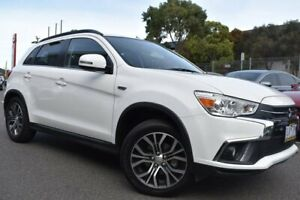 2017 Mitsubishi ASX XC MY18 LS 2WD White 6 Speed Constant Variable Wagon Mill Park Whittlesea Area Preview
