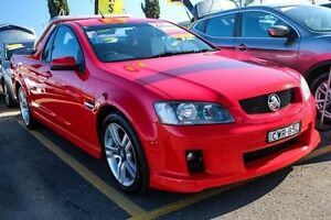 2008 Holden Ute VE SV6 Red Sports Automatic Utility Minchinbury Blacktown Area Preview