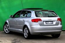 2005 Audi A3 8P Ambition Silver 6 Speed Sports Automatic Hatchback Ringwood East Maroondah Area Preview