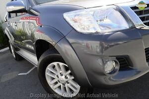 2013 Toyota Hilux KUN26R MY12 SR5 Double Cab Grey 4 Speed Automatic Utility Wangara Wanneroo Area Preview