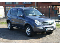 SsangYong Rexton 2.7 Diesel (Automatic with towbar)
