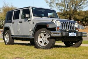 2010 Jeep Wrangler JK MY2010 Unlimited Sport Silver 4 Speed Automatic Softtop Clarkson Wanneroo Area Preview