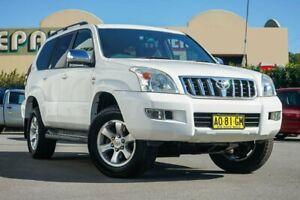2007 Toyota Landcruiser Prado KDJ120R GXL White 6 Speed Manual Wagon Chinderah Tweed Heads Area Preview