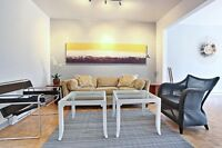 PLATEAU; bright renovated 2BR, Mont Royal metro