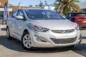 2014 Hyundai Elantra MD3 Active Sleek Silver 6 Speed Sports Automatic Sedan Aspley Brisbane North East Preview