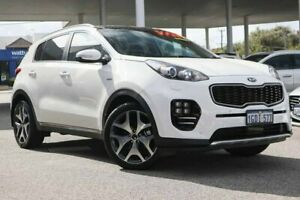 2016 Kia Sportage QL MY17 GT-Line AWD White 6 Speed Sports Automatic Wagon Osborne Park Stirling Area Preview
