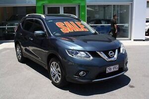 2014 Nissan X-Trail T32 Ti X-tronic 4WD Blue 7 Speed Constant Variable Wagon Mount Gravatt Brisbane South East Preview
