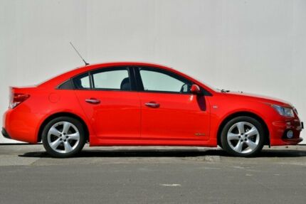 2011 Holden Cruze SERIES JH Series II MY12 SRi Sedan 4dr SA 6sp 1.4T Red Semi Auto Sedan