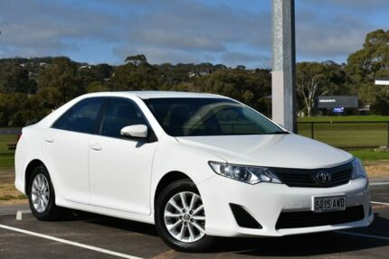 2013 Toyota Camry ASV50R Altise White 6 Speed Sports Automatic Sedan St Marys Mitcham Area Preview