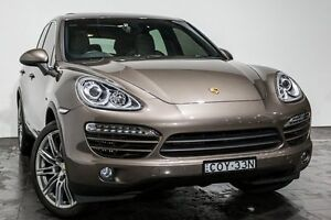 2014 Porsche Cayenne 92A MY14 Diesel Tiptronic Grey 8 Speed Sports Automatic Wagon Rozelle Leichhardt Area Preview