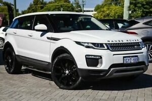 2016 Land Rover Range Rover Evoque L538 MY16.5 TD4 150 SE White 9 Speed Sports Automatic Wagon Osborne Park Stirling Area Preview