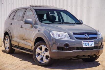 2010 Holden Captiva CG MY10 CX AWD Grey 5 Speed Sports Automatic Wagon